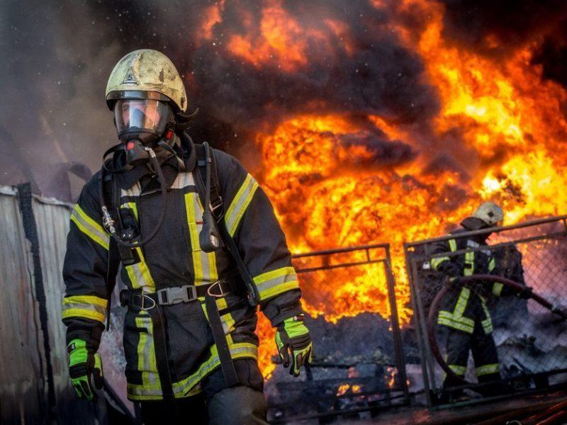 Pajūrio ugniagesiams savaitgalis buvo itin sunkus