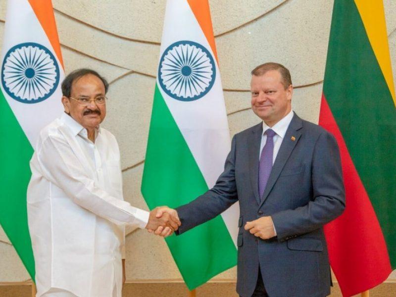 S. Skvernelis ragina Indiją atidaryti ambasadą Vilniuje