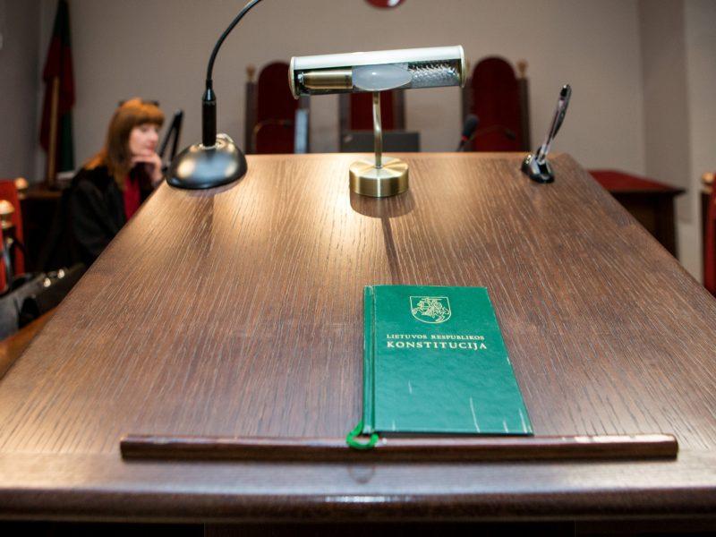 Konstitucijos pataisos dėl teismų tarėjų Seime įveikė pirmąjį laiptelį
