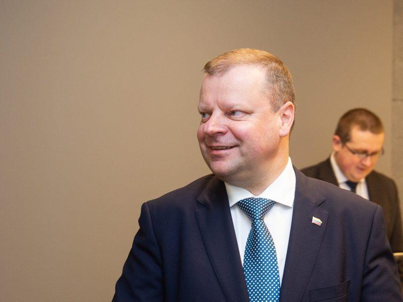 Paaiškėjo, kada Seimas balsuos dėl premjero kandidatūros