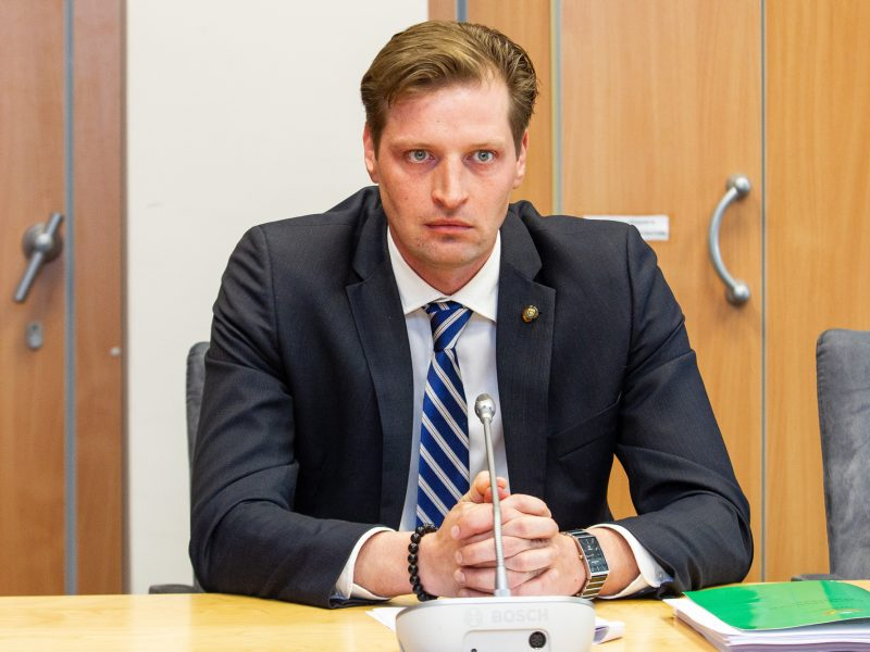 "K. Mažeikai tapus ministru, jo pareigas Seime perims ""tvarkietis"""