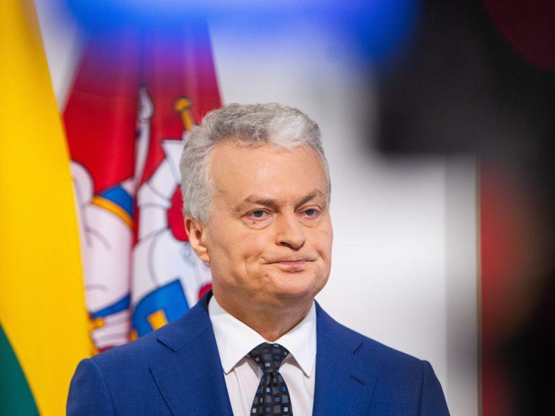 G. Nausėda nusprendė asmeniškai dalyvauti eurokomisaro atrankoje