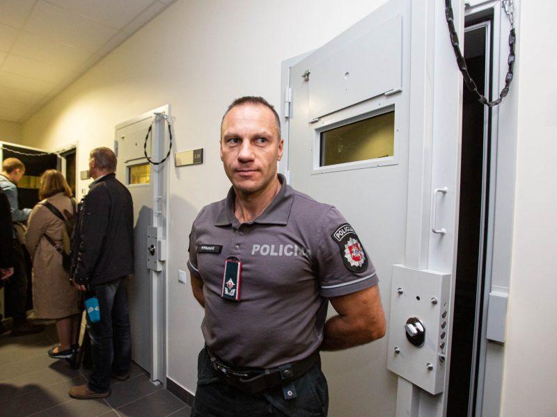 Vilniuje atidaryta nauja areštinė