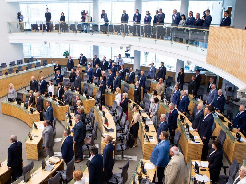 Etikos sargai siūlo sprendimą, neleisiantį paralyžiuoti Seimo komitetų darbo