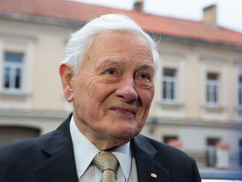 Kaunas dėkoja V. Adamkui už nubrėžtą kryptį į laisvą ir drąsią Lietuvą