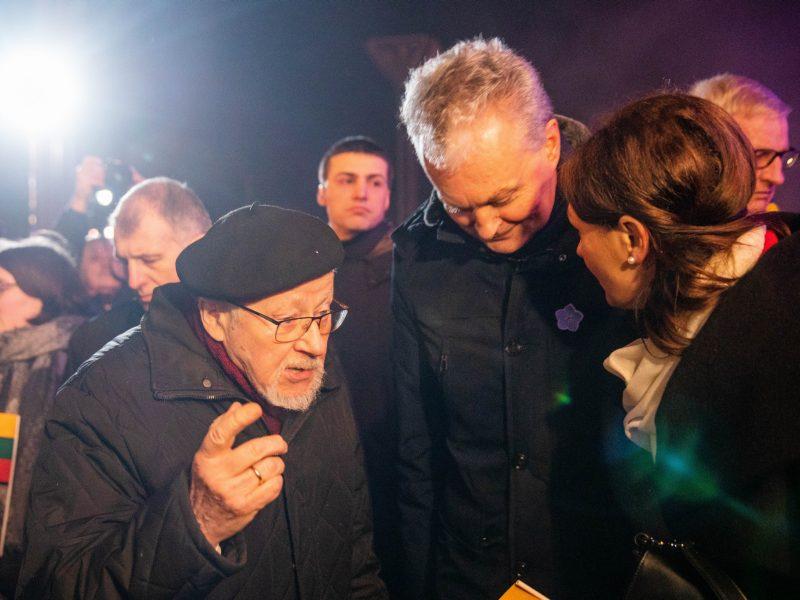 G. Nausėda neabejoja: V. Landsbergis de facto ėjo valstybės vadovo pareigas