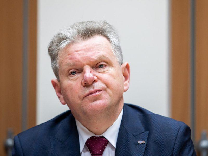 J. Narkevičius stabdo finansavimą Varnikų kelio remontui