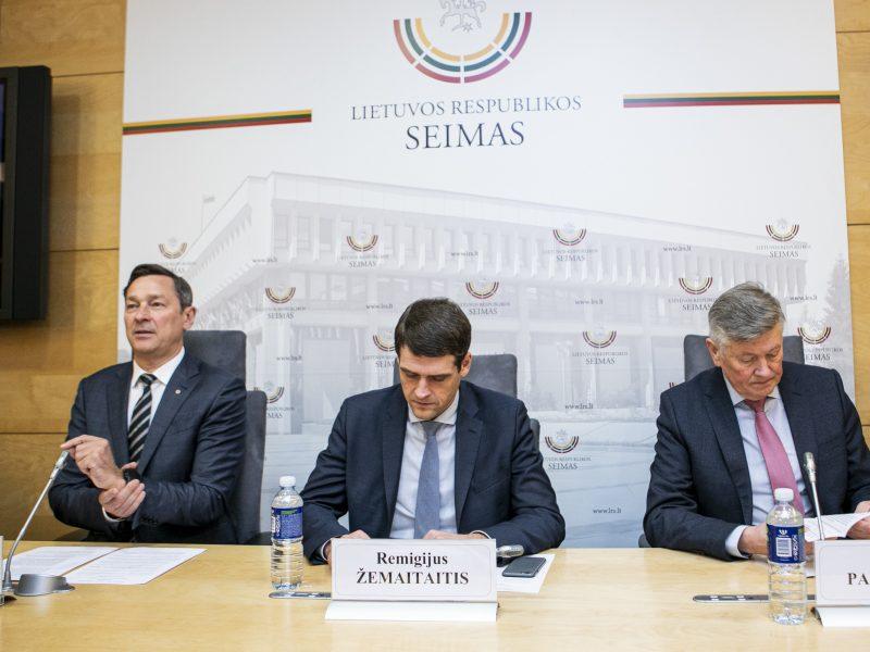 """Judėjimo """"Pirmyn, Lietuva"""" spaudos konferencija"""