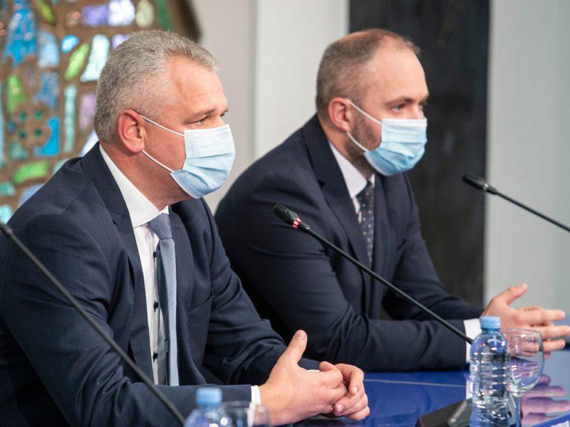 Seimo Darbo partijos frakcijos seniūnas turi tris pavaduotojus