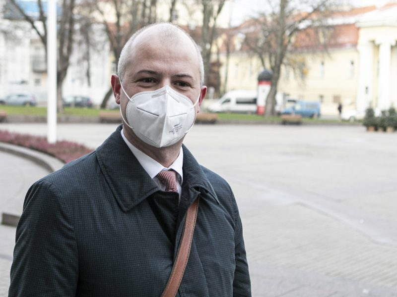 G. Nausėda susitinka su kandidatu į ministrus S. Gentvilu