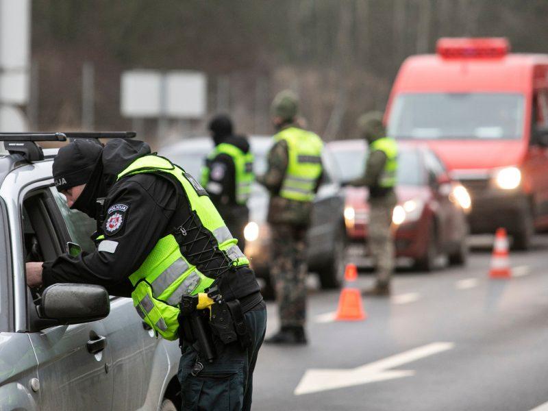 Klaipėdos policija nepraleido 13 ekipažų: vyko be svarbios priežasties