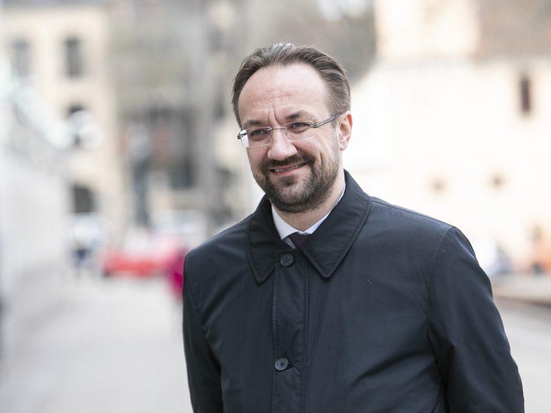 Lietuvos banko vadovas atvyko į Prezidentūrą