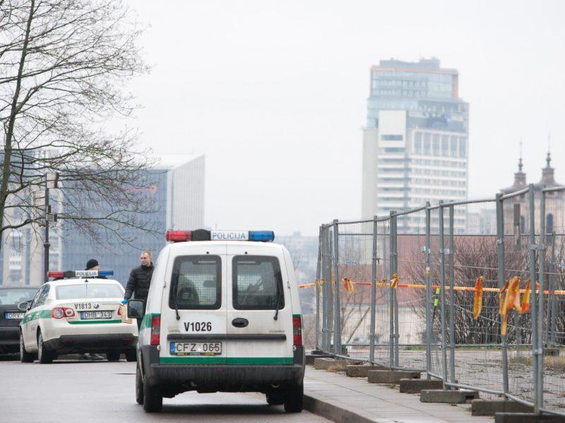 Vilniaus centre – sprogimas: sulėkė policija, medikai ir ugniagesiai