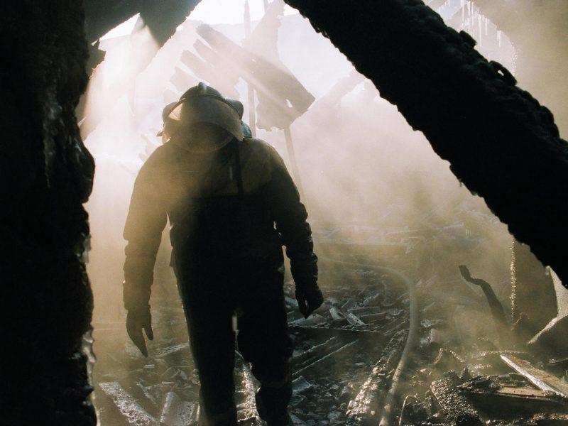 Tragiški penktadienio gaisrai: liepsnose žuvo du vyrai