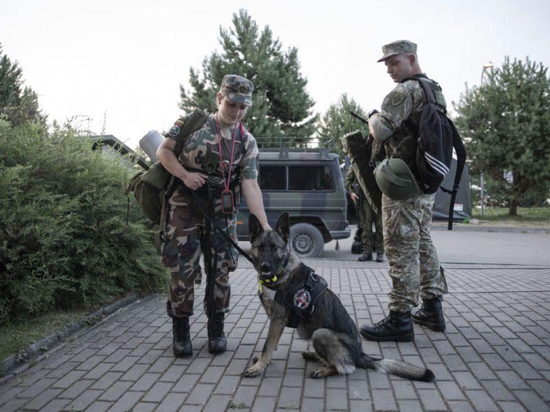 Seimas patvirtino prezidento sprendimą dėl didesnių įgaliojimų kariams pasienyje