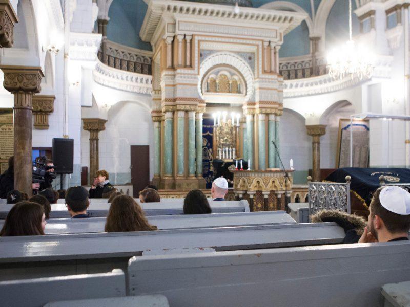 Žydų bendruomenė vėl atidarė būstinę ir Vilniaus sinagogą