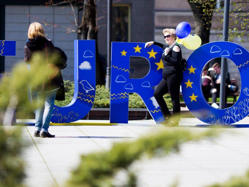 Vilniuje prasideda visą savaitgalį truksiantys Europos dienos renginiai