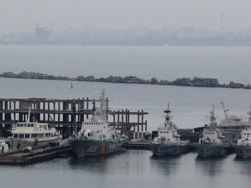 Ukraina ragina Vokietiją dislokuoti karo laivų Juodojoje jūroje