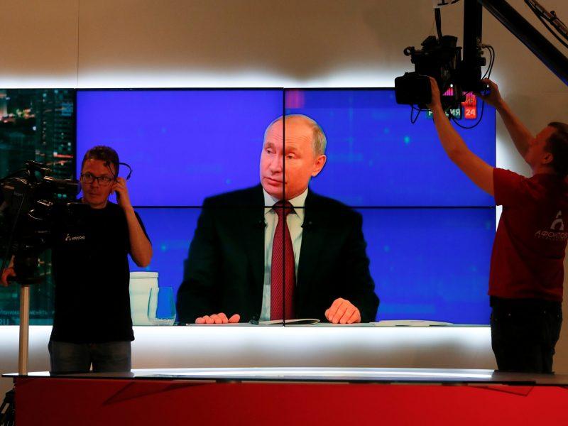 Komisija uždraudė Lietuvoje retransliuoti rusų kanalo RT programas