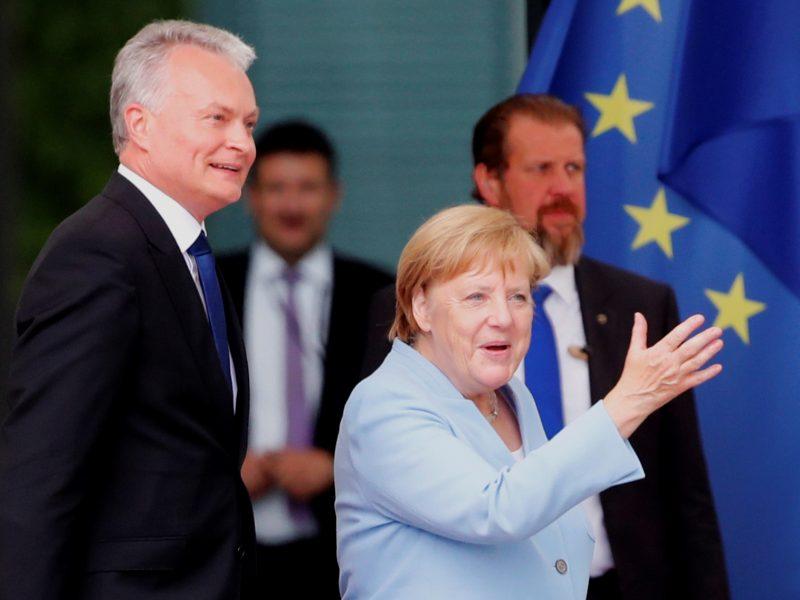 A. Merkel patikino: Vokietijos kariai liks Lietuvoje