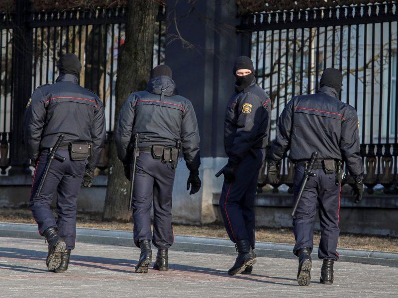 Baltarusijoje sulaikytas seniausios opozicinės partijos lyderis