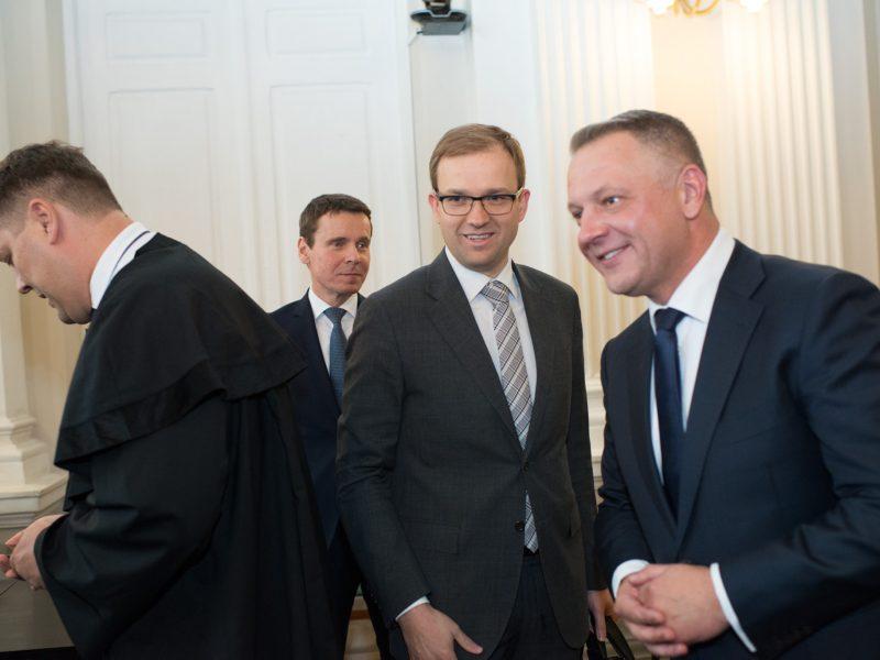 Politinės korupcijos byla atidėta dėl V. Gapšio kandidatavimo į Seimą