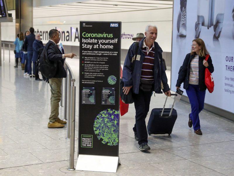Jungtinėje Karalystėje įstrigusiems lietuviams – skrydis iš Londono