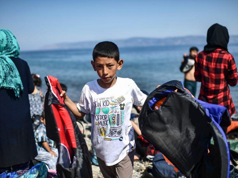 Lietuva priglaus kelis Viduržemio jūroje išgelbėtus migrantus