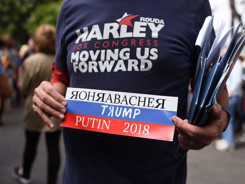 """Rusų """"trolių fabrikų"""" finansų vadovė apkaltinta kišimusi į JAV rinkimus"""