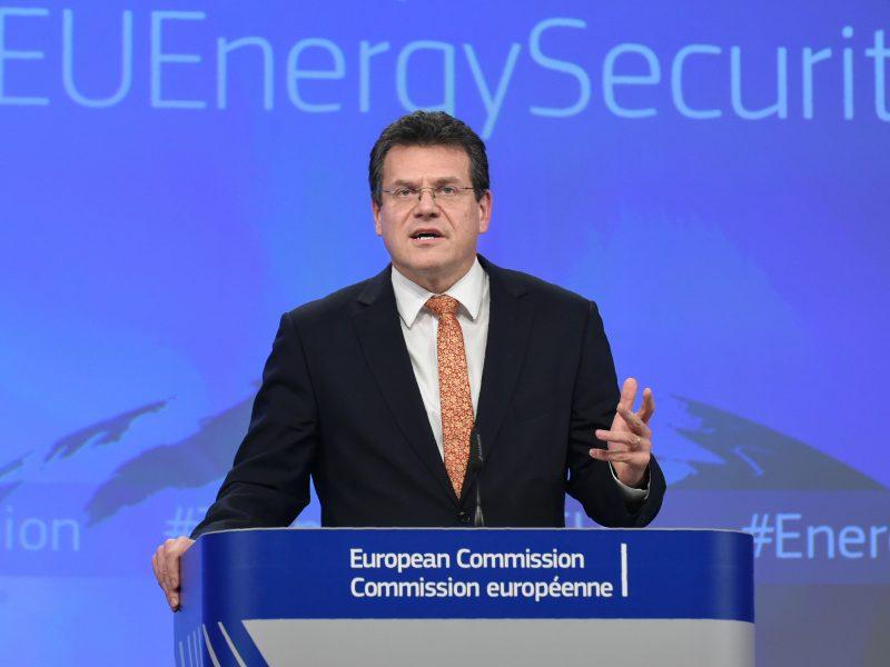 ES ir Rusija tikisi, kad pavyks pratęsti sutartį dėl dujų tiekimo per Ukrainą