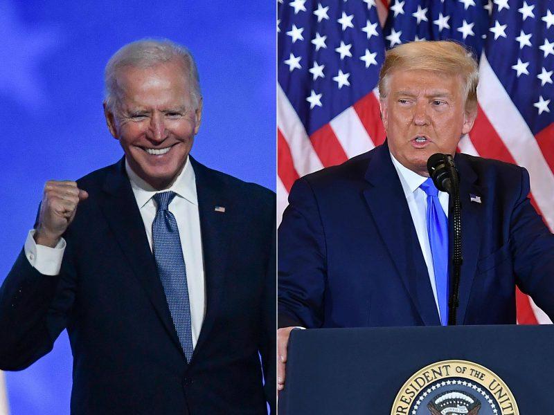 Politologai: Lietuvai palankesnė būtų J. Bideno pergalė JAV rinkimuose