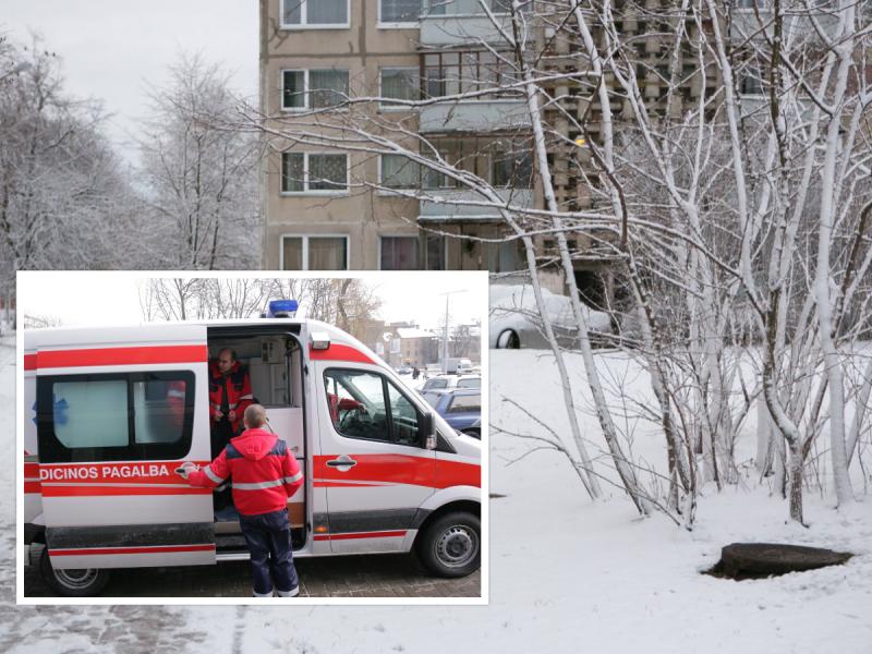 Alytuje – šalčio auka: prie namo konteinerių mirusį vyrą rado kaimynas