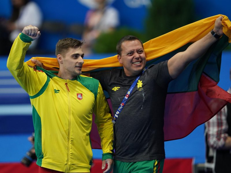Auksinis sportinės gimnastikos žybsnis