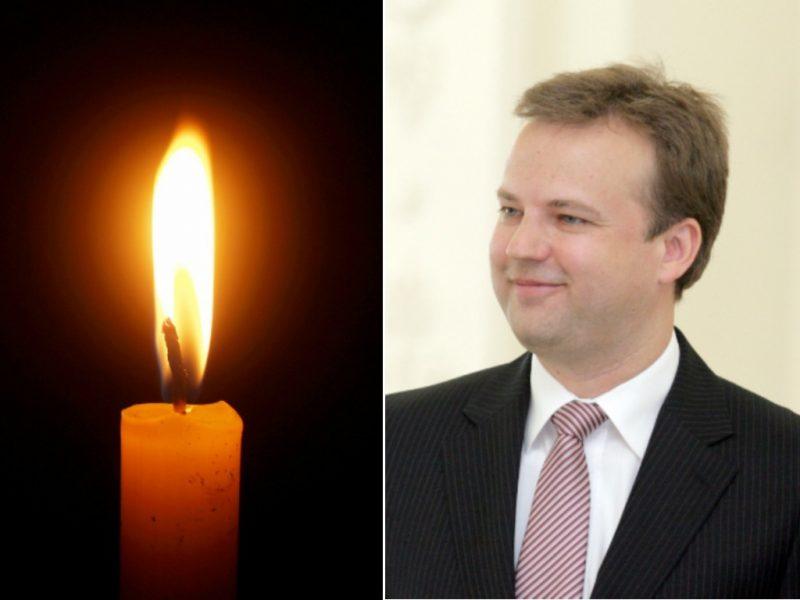 Po ligos mirė ilgametis diplomatas D. Pranckevičius