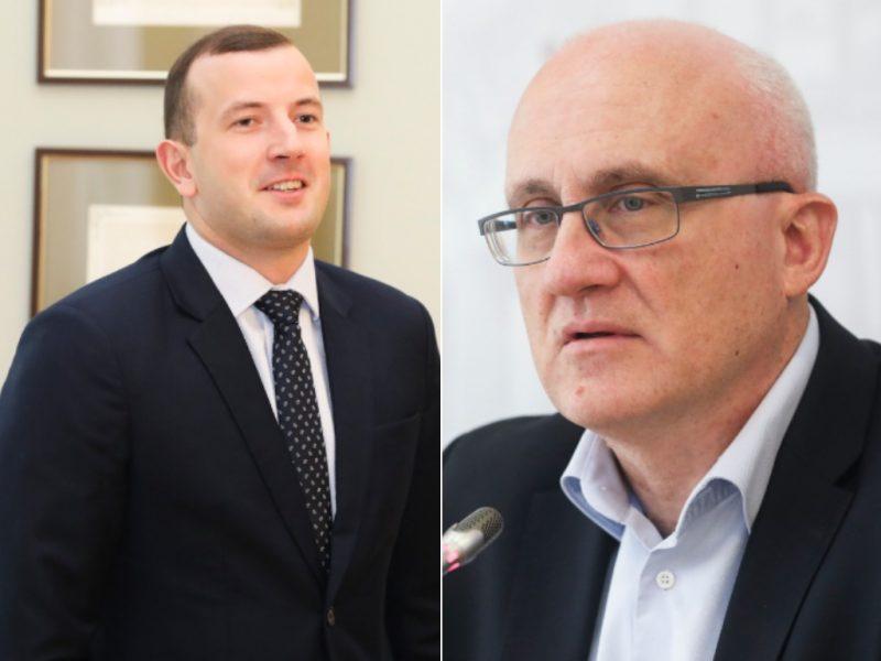 S. Jakeliūnas pasakė, kodėl neremia V. Sinkevičiaus kandidatūros į eurokomisarus