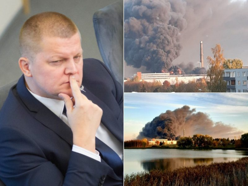 Apibendrina Alytaus gaisro situaciją: Lietuva pasiruošusi reaguoti į incidentus