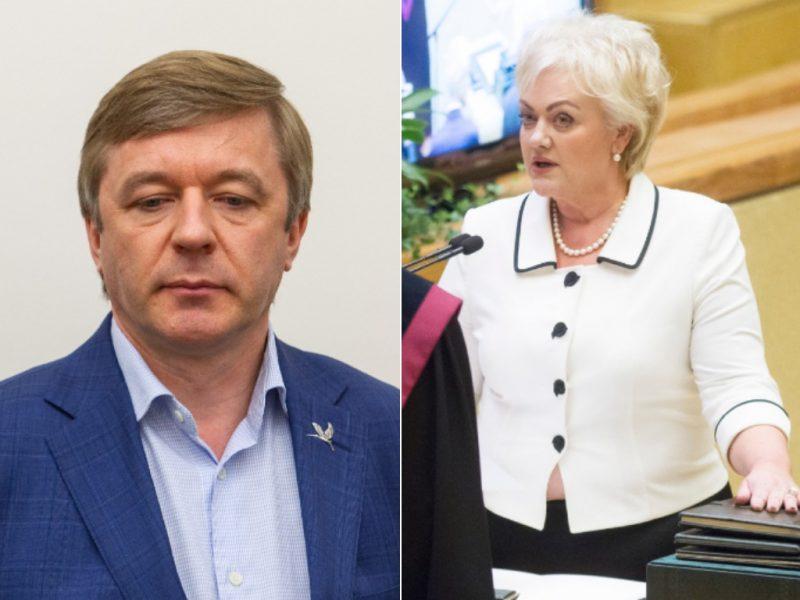 R. Karbauskis: turimų žinių pakanka, kad I. Rozovai būtų surengta apkalta
