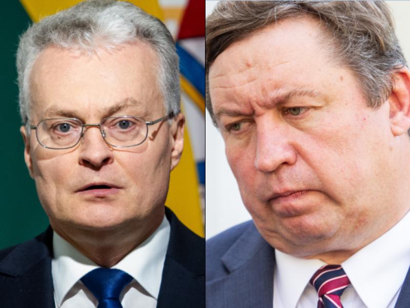 G. Nausėda: nematau argumentų, kodėl R. Karoblis negalėtų tęsti darbo