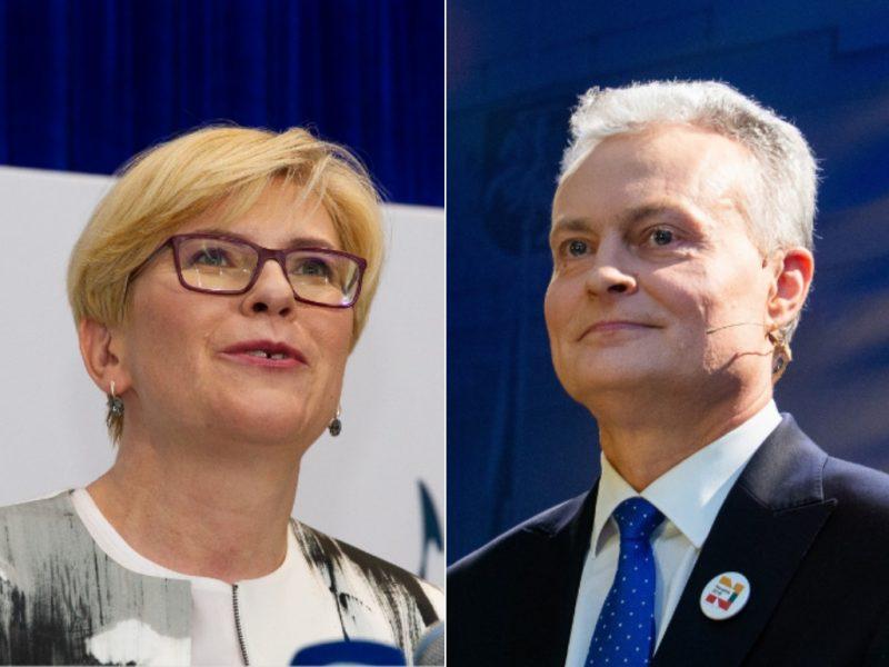 Politologai: G. Nausėda ir I. Šimonytė turi daugiau panašumų nei skirtumų