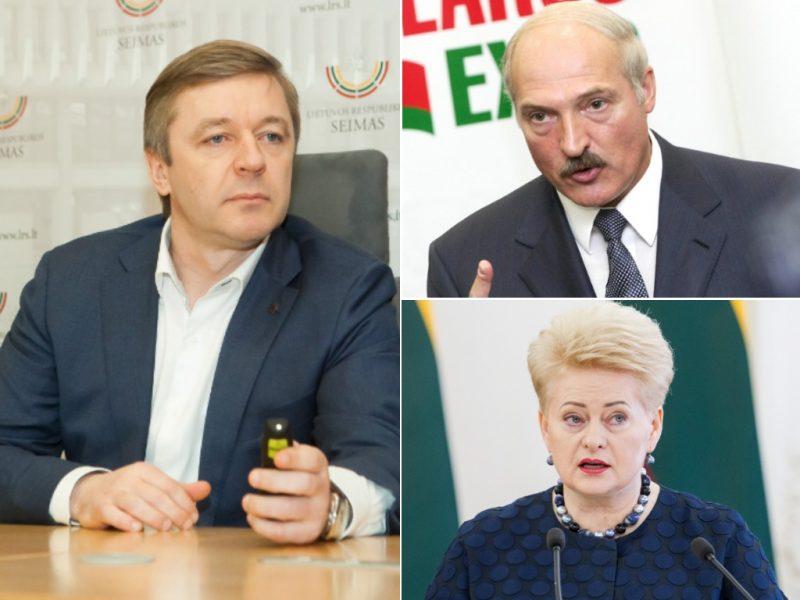 R. Karbauskis sako, kad investuoti Baltarusijoje jį skatino prezidentų draugystė