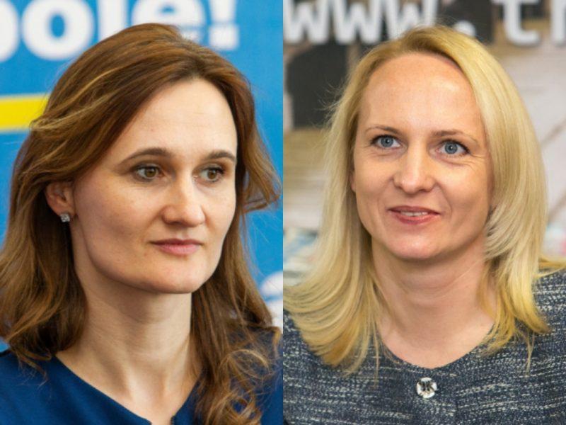 Liberalų sąjūdis renka pirmininką: antrame ture kaunasi dvi moterys