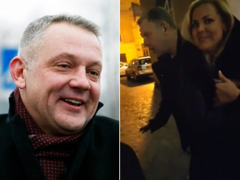 """Naktiniai E. Masiulio nuotykiai Klaipėdoje: žadėjo žolės, meilės ir """"feelingo"""""""
