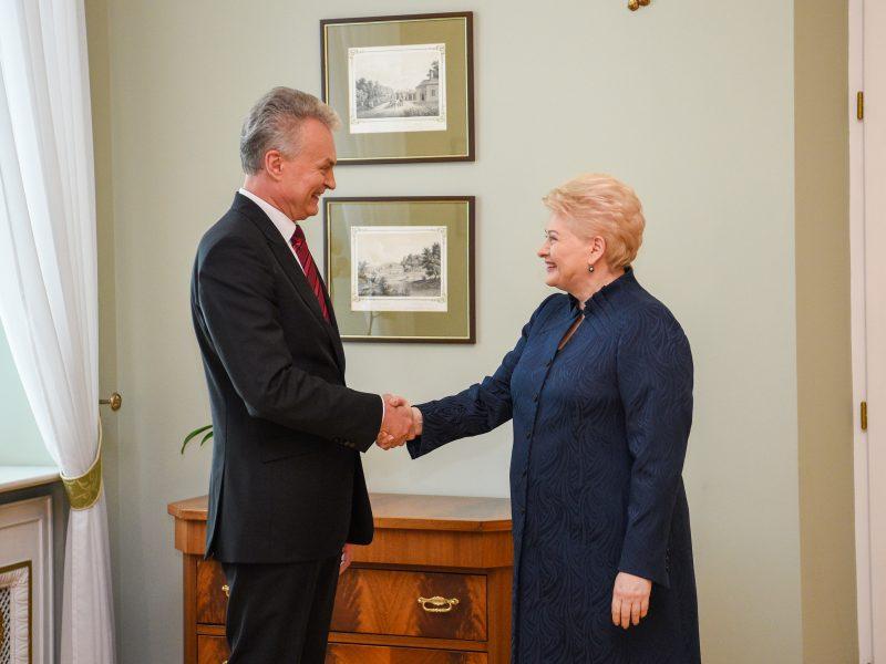 D. Grybauskaitė susitiko su G. Nausėda