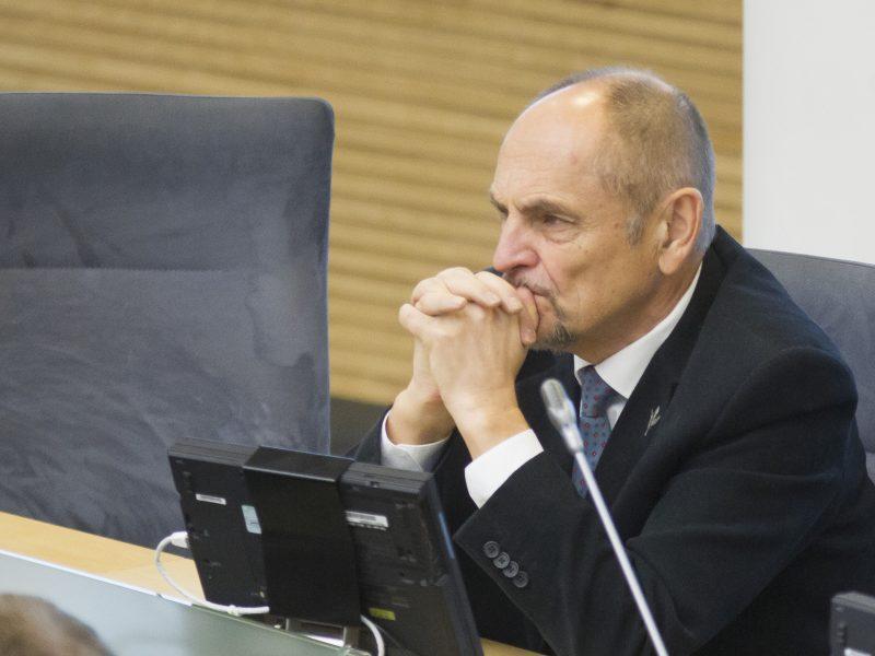 Seimo narys A. Kirkutis nepateko į kitą Jūrininkų ligoninės vadovo konkurso etapą