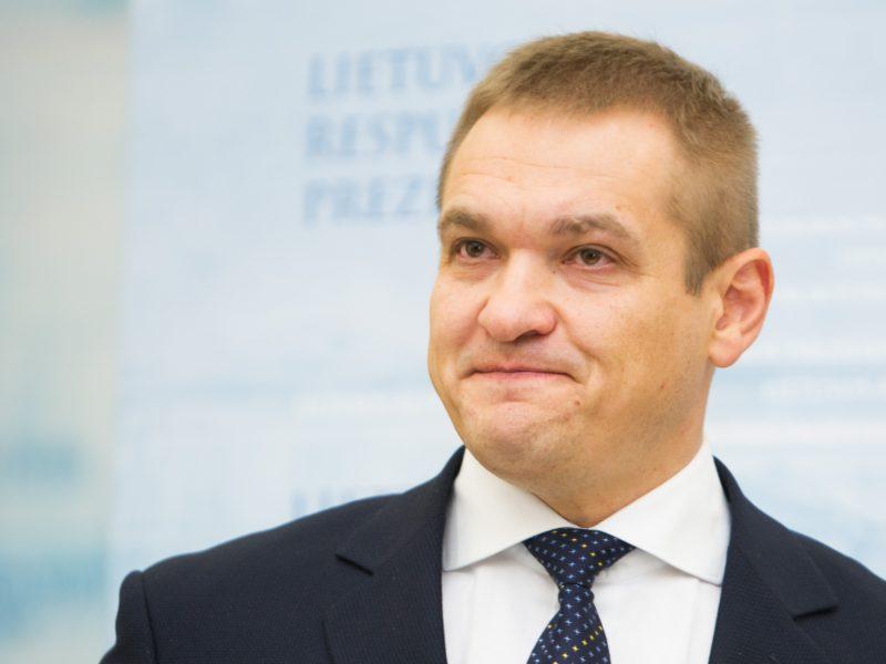E. Misiūnas tiki, kad ministru tapo dėl savo kompetencijų
