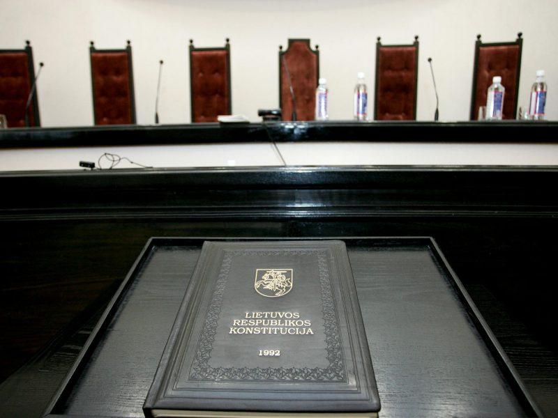 Lietuviai savo teises jau greitai galės ginti Konstituciniame Teisme