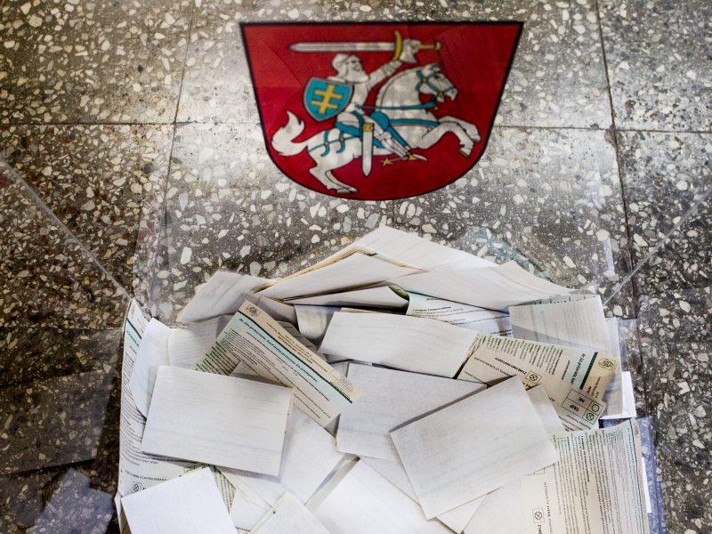 Reikiamus parašus kandidatuoti Zanavykų apygardoje surinko šeši politikai