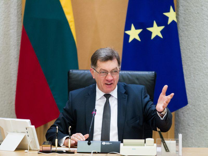 A. Butkevičius: Lietuva laukia Kinijos leidimų maisto produktų eksportui
