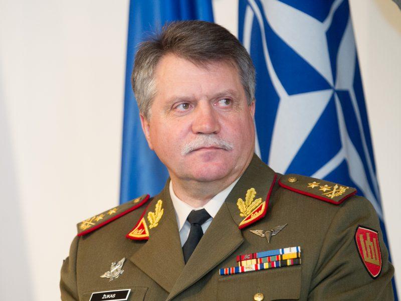 Kariuomenės vadas Londone aptars ekspedicinių pajėgų planus
