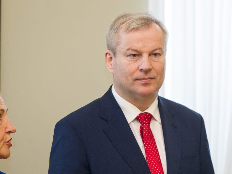M. Bastys skundžia jį įžeidusias konservatorių rinkimų reklamas